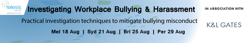 Investigating Workplace Bullying and Harassment